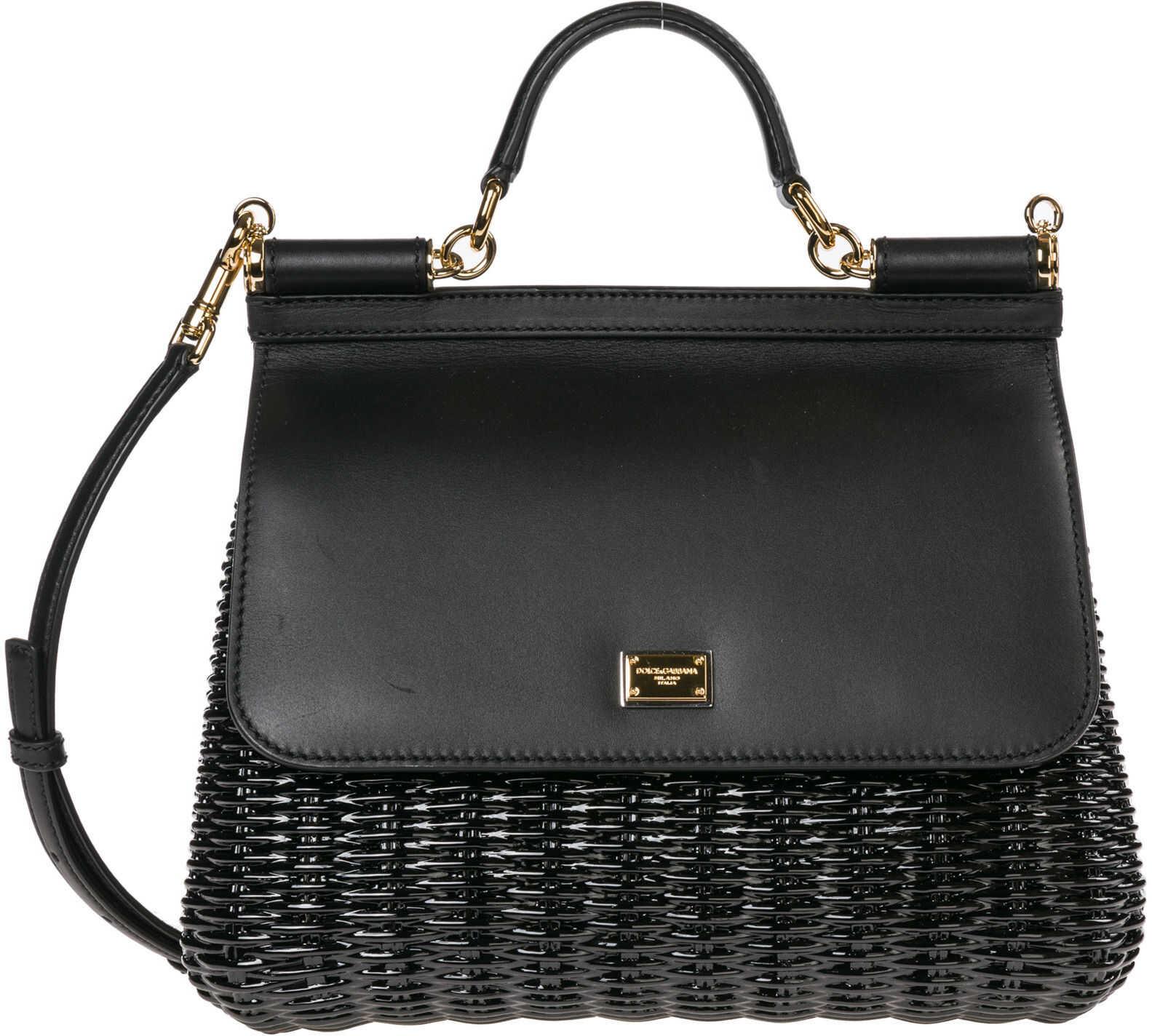 Dolce & Gabbana Purse Sicily Black