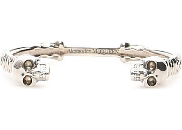 Alexander McQueen 554570 J160Y SILVER