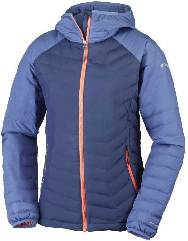 Columbia Powder Lite Hooded Jacket WK1499592 ALBASTRE