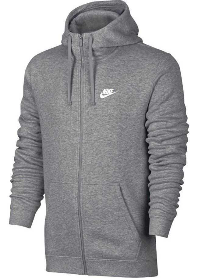 Nike Nsw Hoodie FZ Flc Club 804389071 GRI