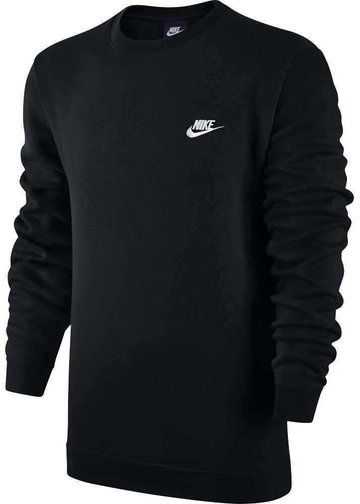 Nike Sportswear Crew Fleece Club 804340010 NEGRE