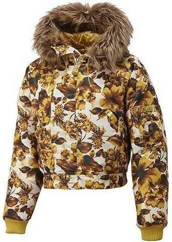 adidas Golden Flower Down Jacket G86641 ALB/DE AUR/CAFENII