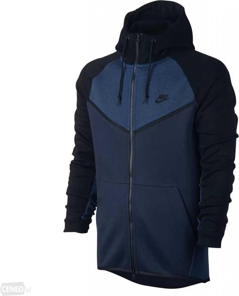 Nike Tech Fleece Windrunner 885904473 NEGRE/ALBASTRU MARIM