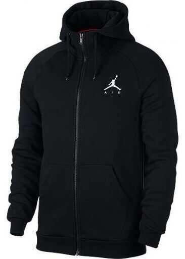 Nike Jumpman Fleece Fullzip 939998010 NEGRE