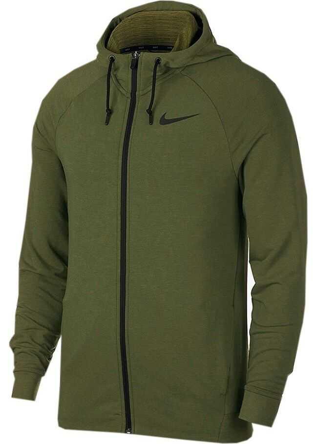 Nike M NK Dry Hoodie FZ Hprdr LT 889383395 OLIV/VERDE