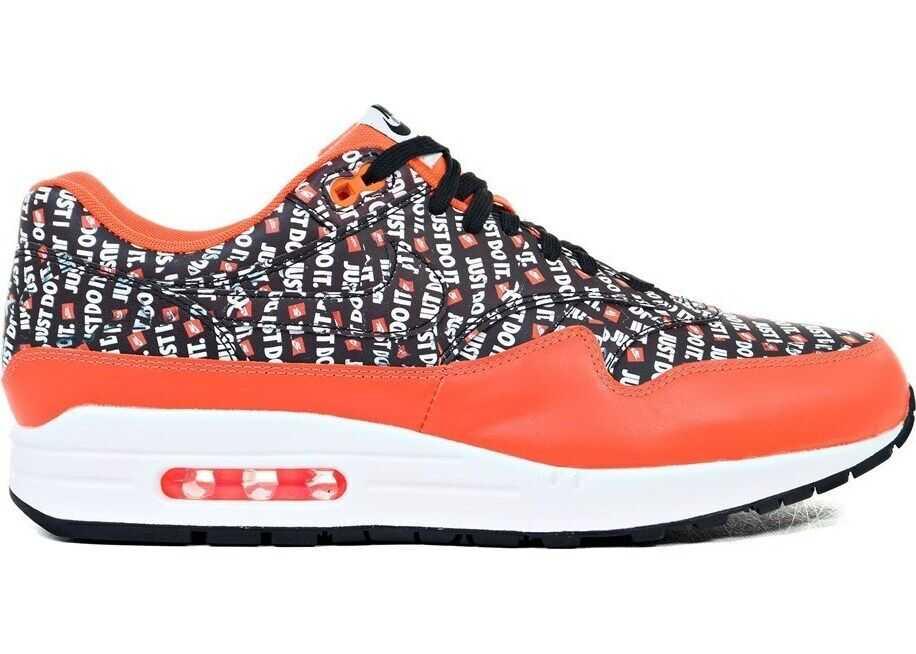 Nike Air Max 1 Premium 875844008 ALB/NEGRE/PORTOCALIE