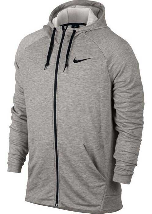 Nike Dry FZ Fleece Hoodie Trening 860465 GRI