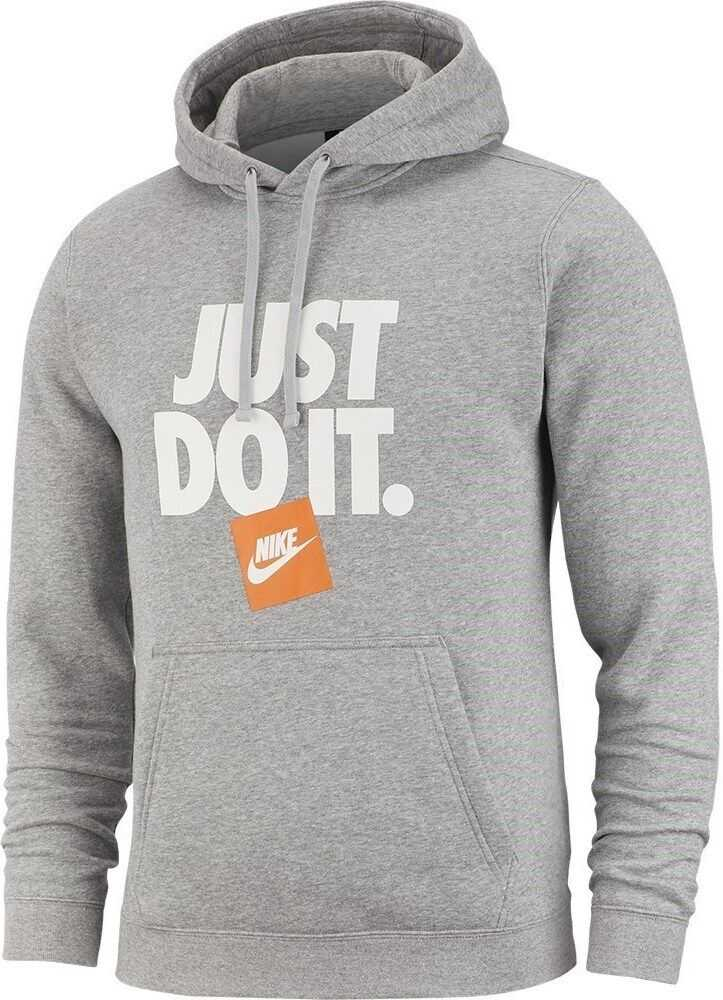 Nike Just DO IT Hoodie PO Flc AR2578 GRI