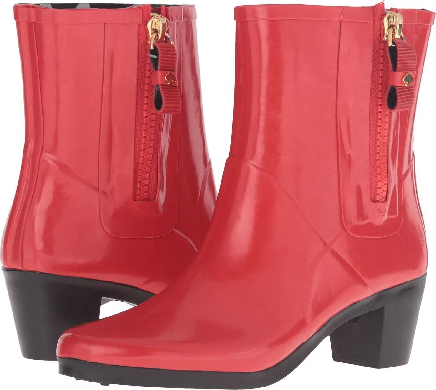Kate Spade New York Penny Red Shiny Rubber