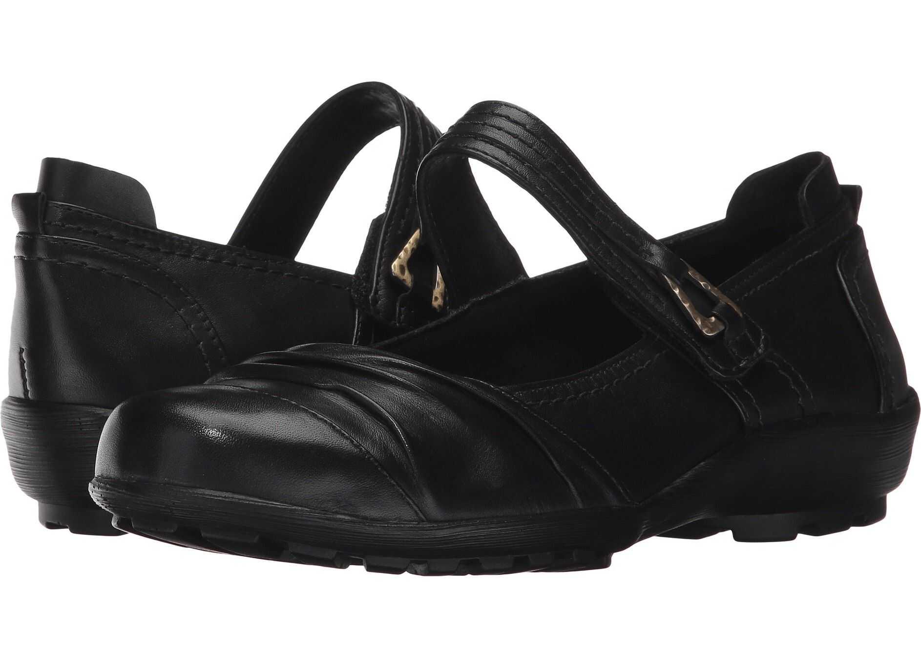 Walking Cradles Hayden Black Leather