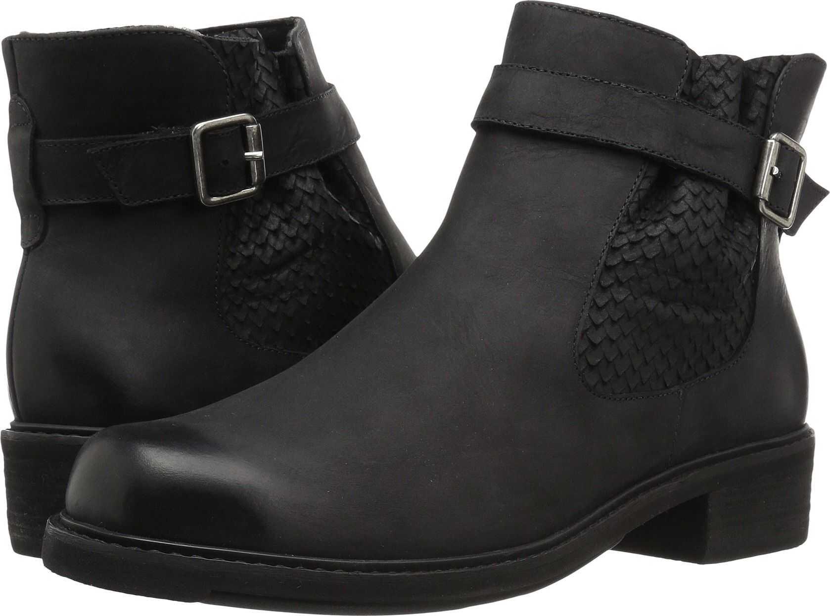 Walking Cradles Devin Black Distressed Leather
