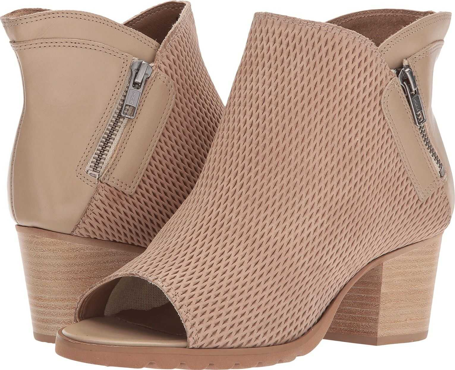 Walking Cradles Neece Light Taupe Stamped Nubuck/Light Taupe Leather