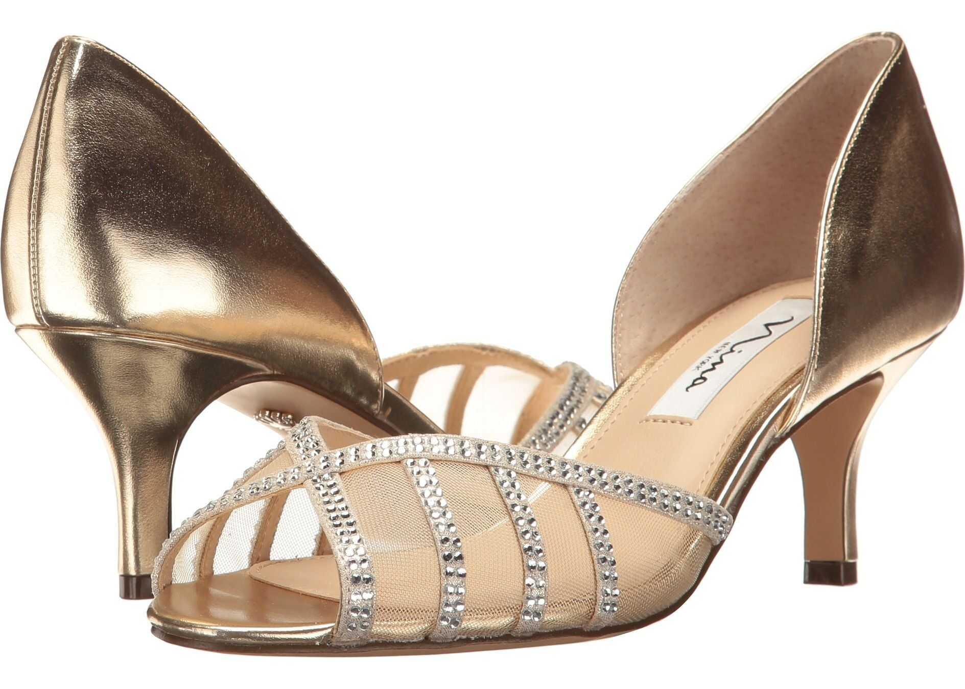 Nina Corita Soft Gold/Champagne