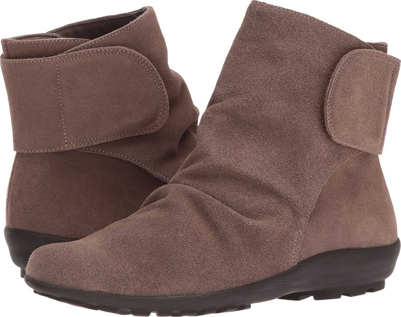 Walking Cradles Harlow Taupe Max Suede