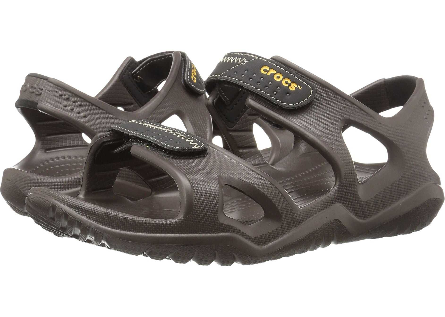 Crocs Swiftwater River Sandal Espresso/Black