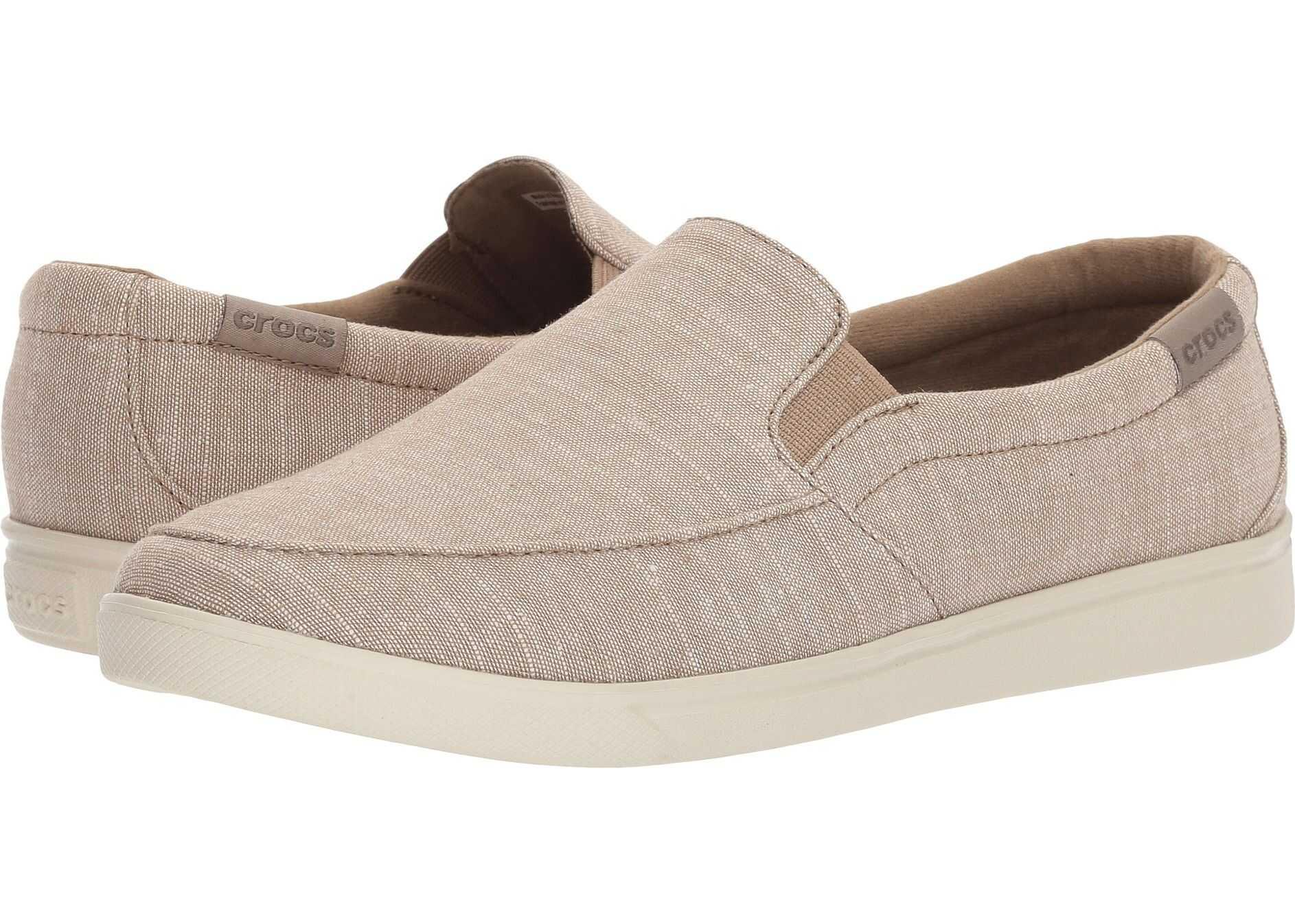 Crocs CitiLane Low Slip-On Khaki