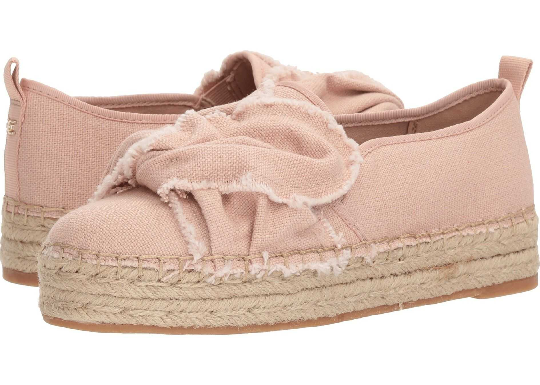 Sam Edelman Cabrera Shell Pink Casual Washed Out Canvas