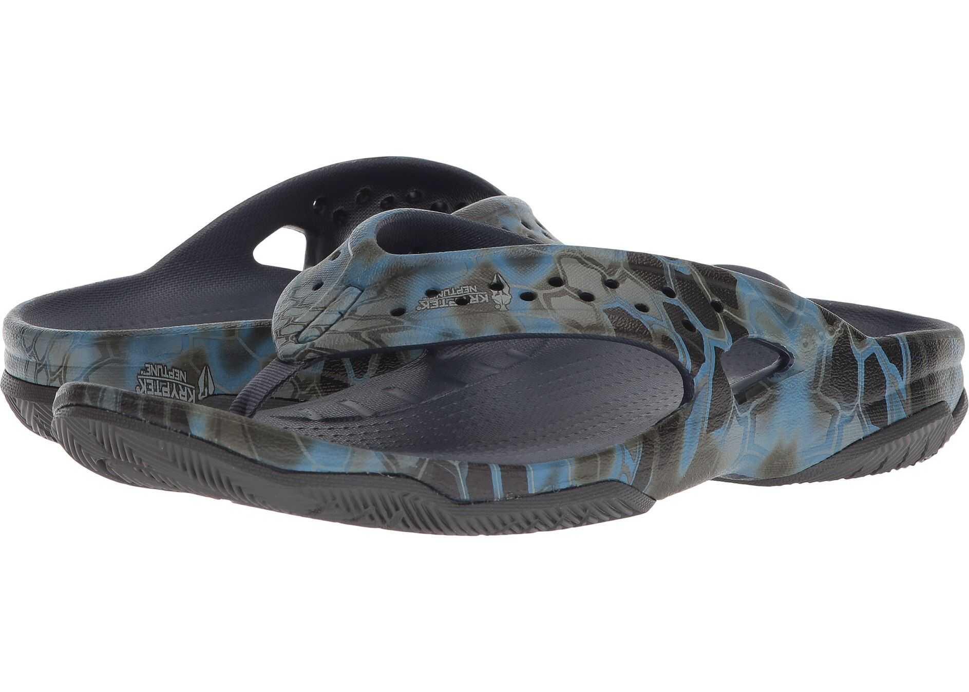 Crocs Swiftwater Kryptek Neptune Deck Flip Navy