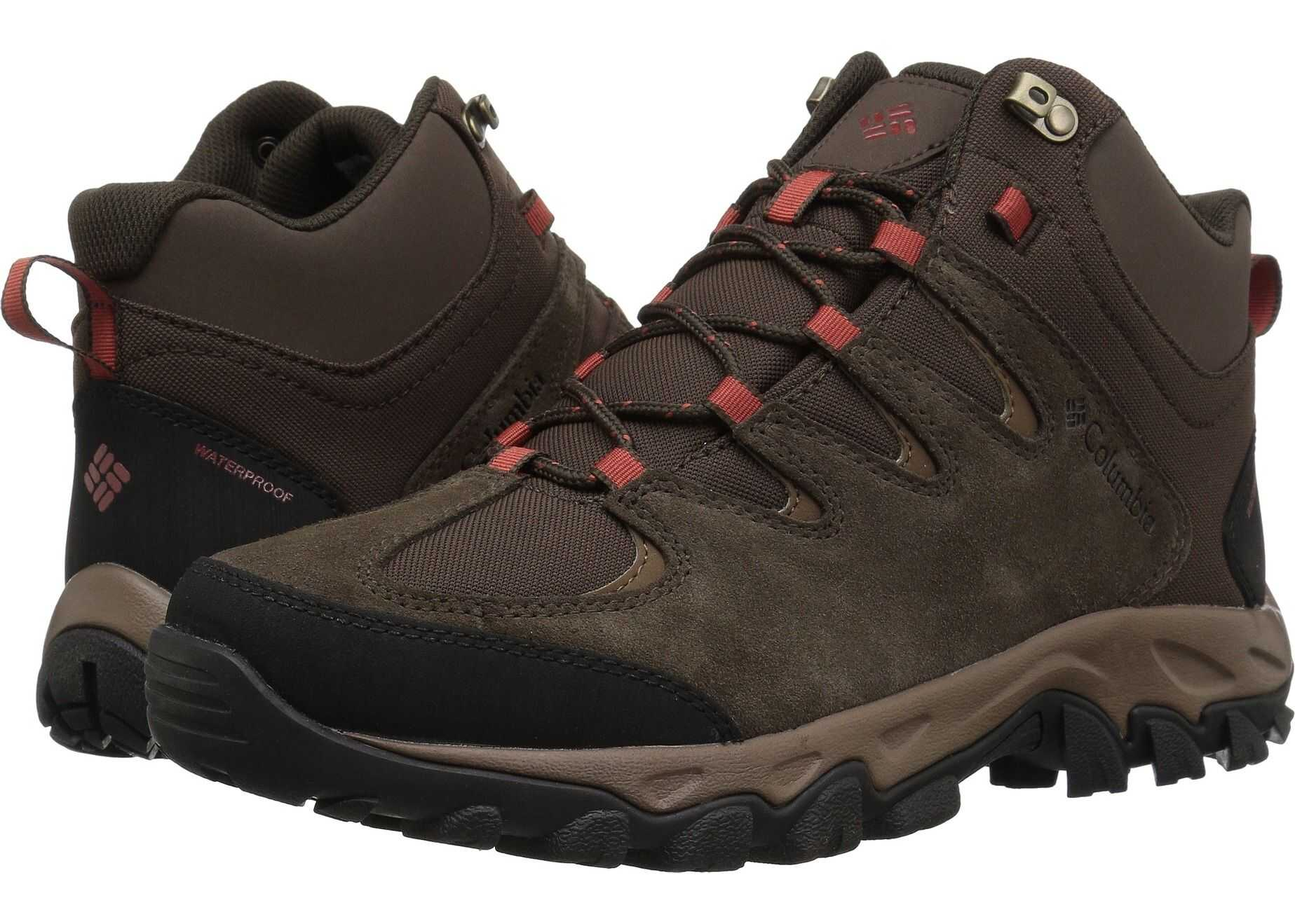 Columbia Buxton Peak™ Mid Waterproof Cordovan/Rusty