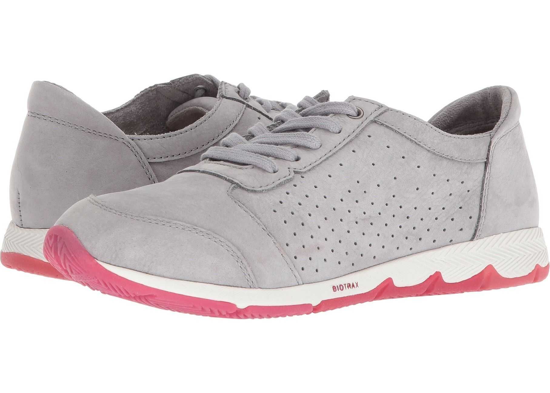 Hush Puppies Cesky Perf Oxford Frost Grey Nubuck