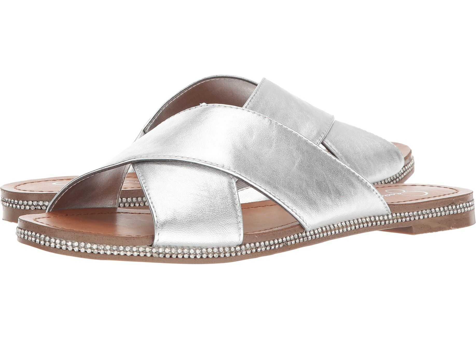 Jessica Simpson Brinella Platinum Metallic Italia Nappa