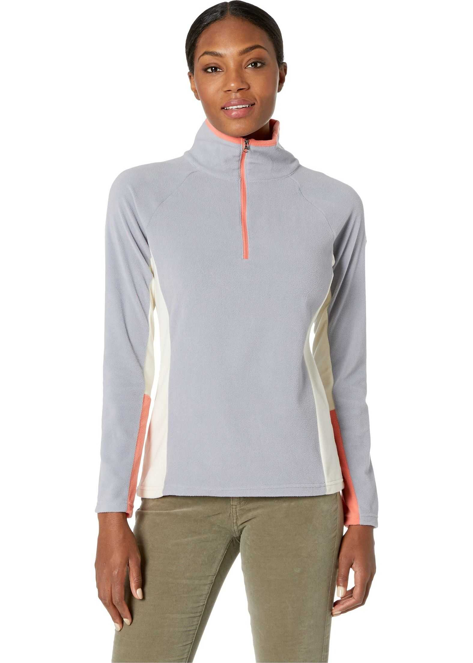Columbia Glacial™ IV 1/2 Zip Astral/Light Bisque