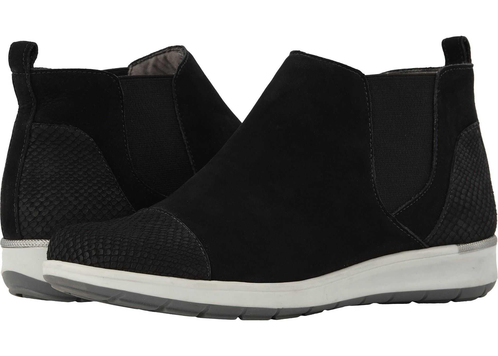 Walking Cradles Osmond Black Leather