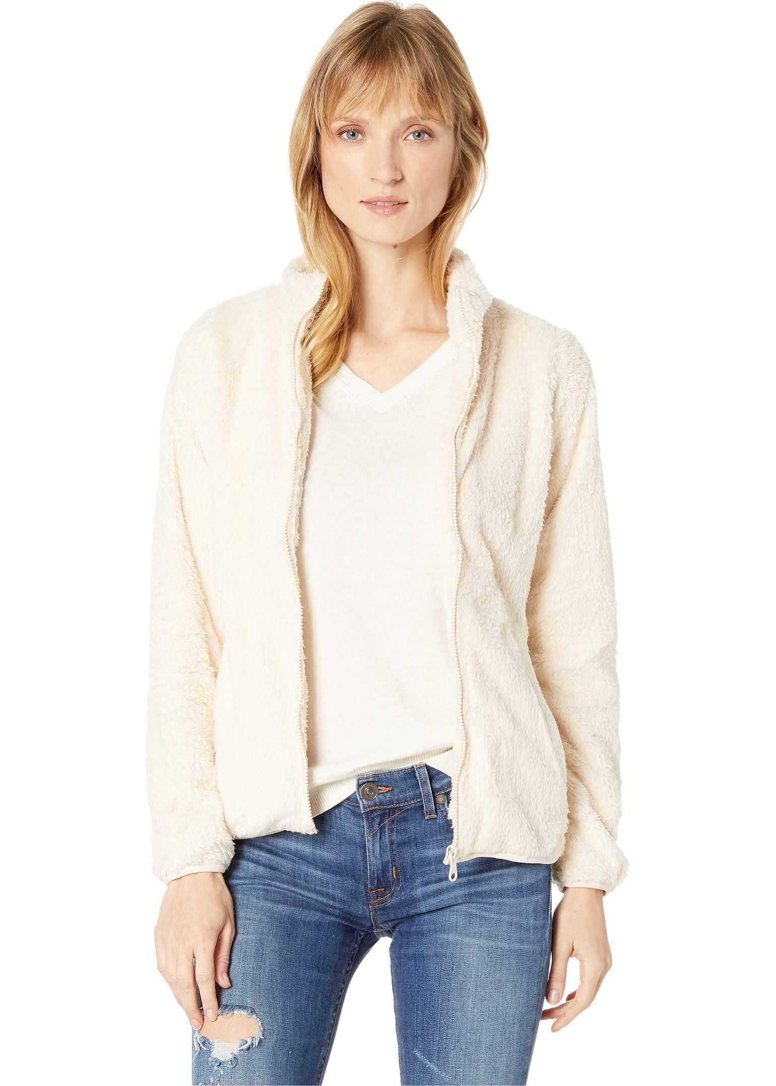 U.S. POLO ASSN. Fleece Jacket Almond