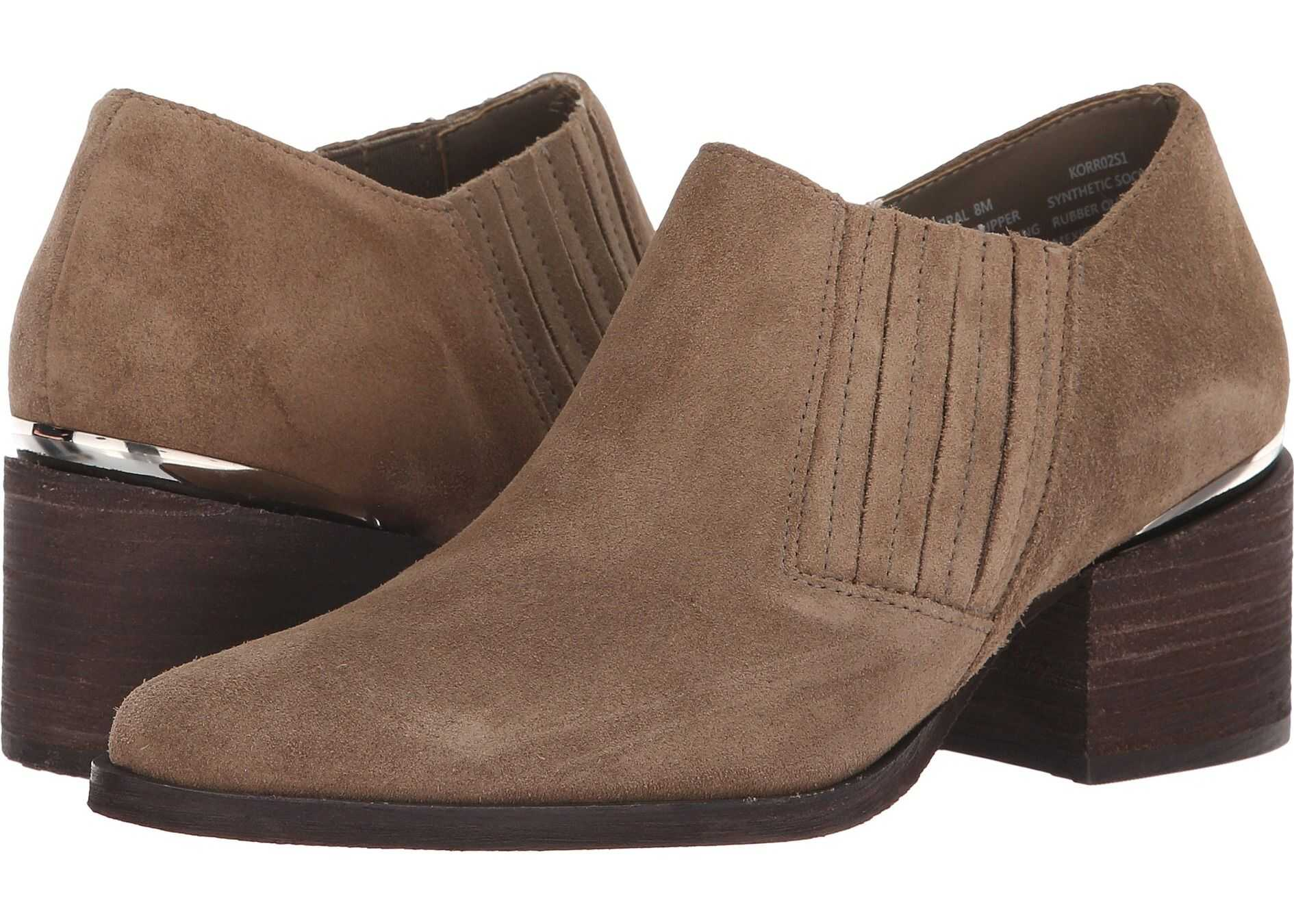 Steve Madden Korral Bootie Taupe Suede
