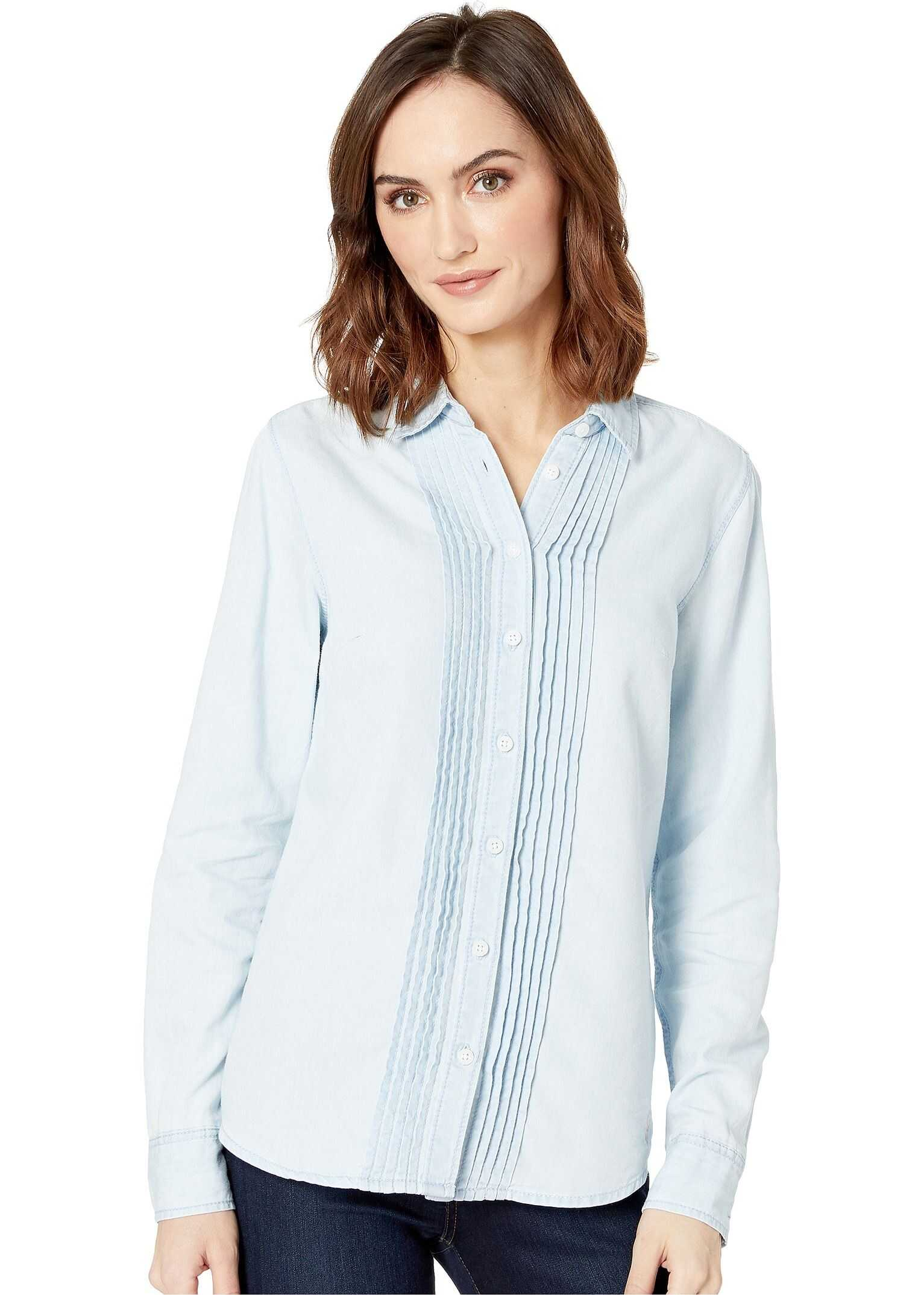 U.S. POLO ASSN. Pintuck Denim Shirt Blue