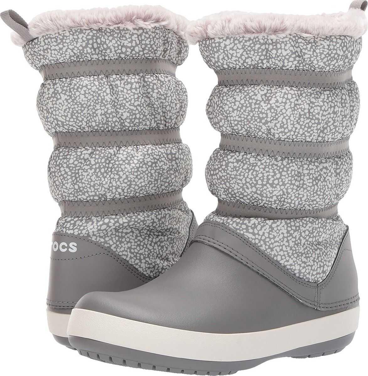Crocs Crocband Winter Boot Dots/Smoke