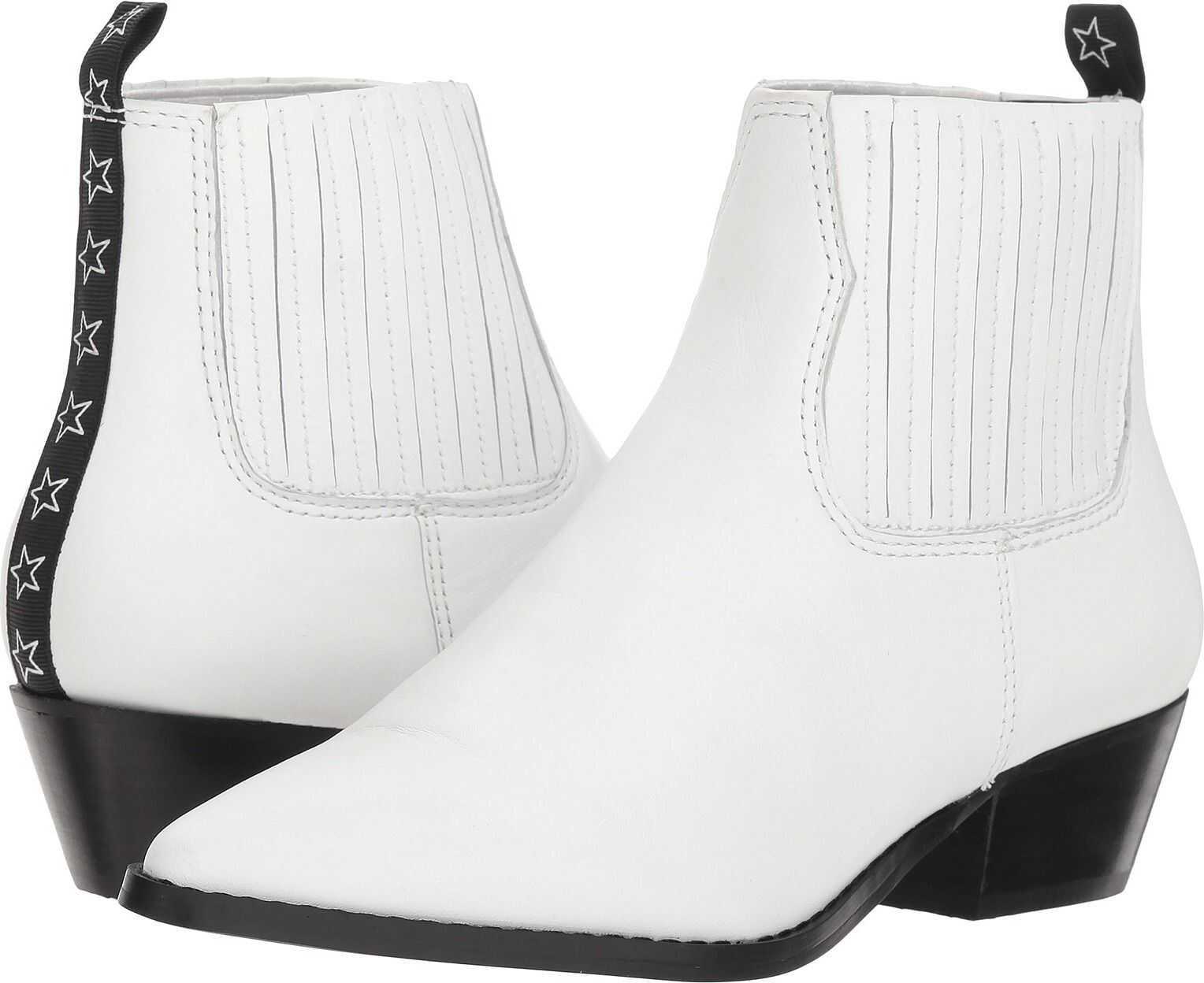 Steve Madden Westie White Leather