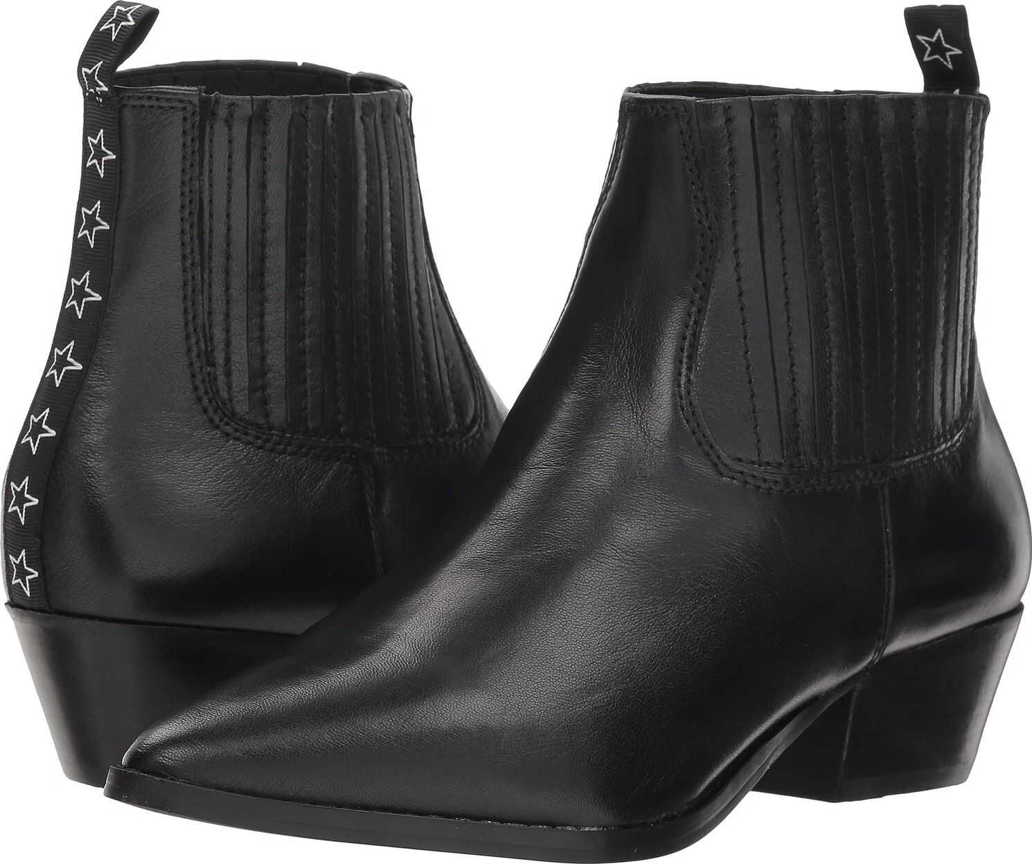 Steve Madden Westie Black Leather