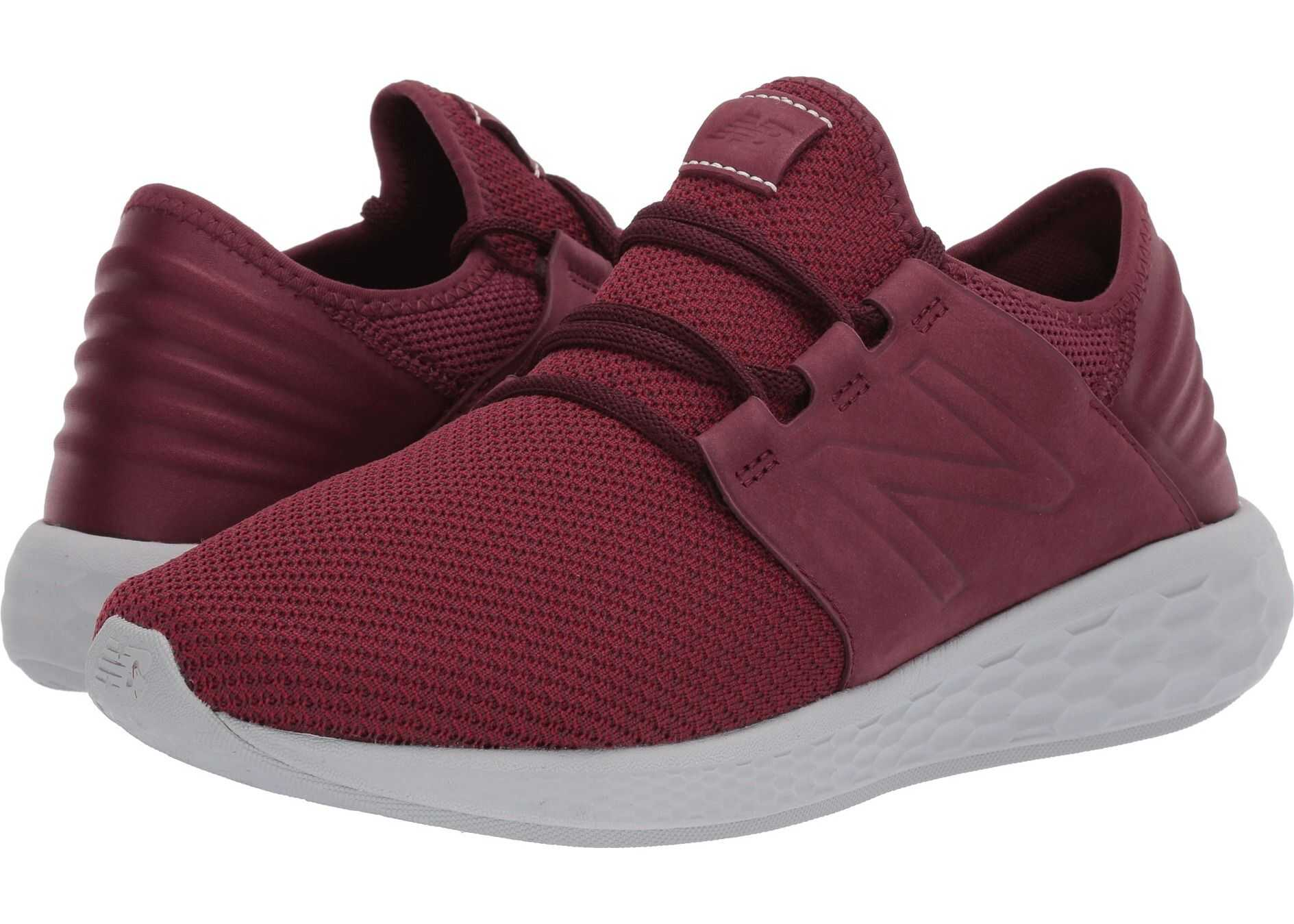 New Balance Fresh Foam Cruz v2 Nubuck NB Burgundy/NB Scarlet