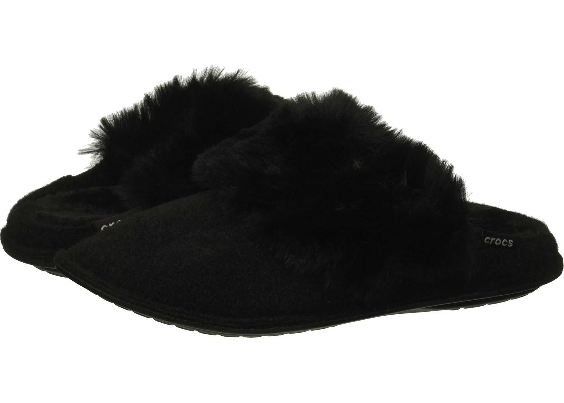 Crocs Classic Luxe Slipper Black