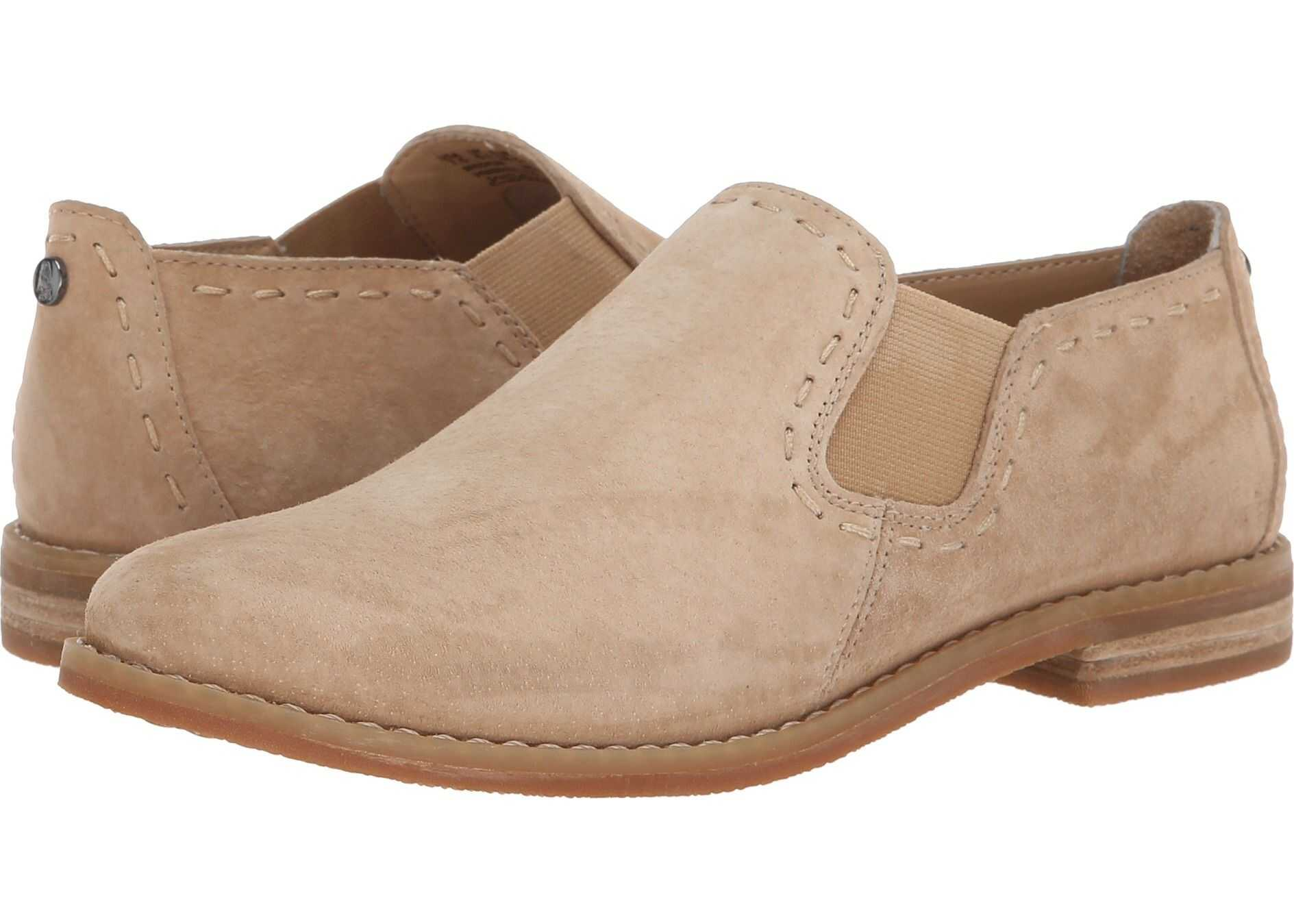 Hush Puppies Chardon Slip-On Chino Tan Suede