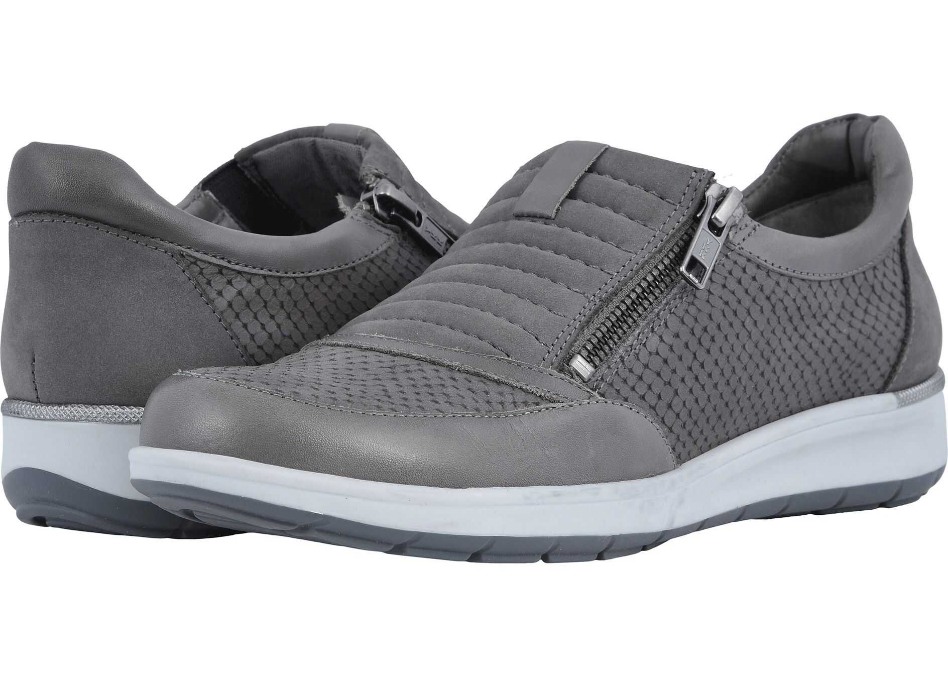 Walking Cradles Orion Slate Grey Matte Snake Print/Nubuck/Leather
