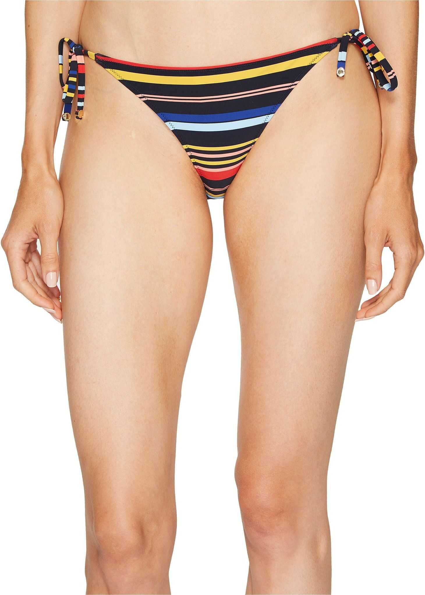 adidas by Stella McCartney Stripe Tie Side Bikini Multicolor