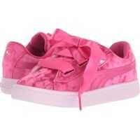 Sneakers Basket Heart Velour PS (Little Kid) Fete