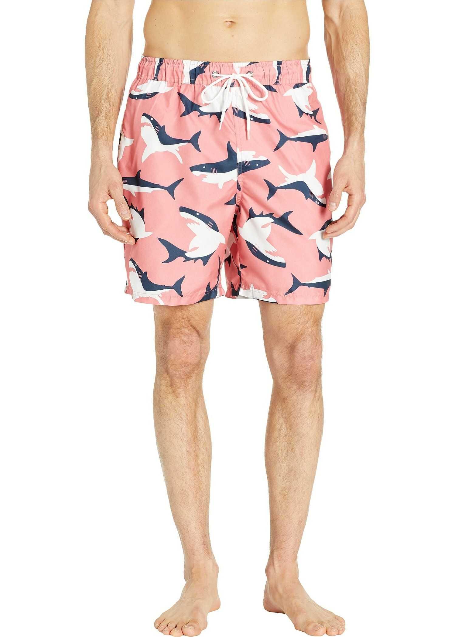 U.S. POLO ASSN. Shark Swim Shorts Coral
