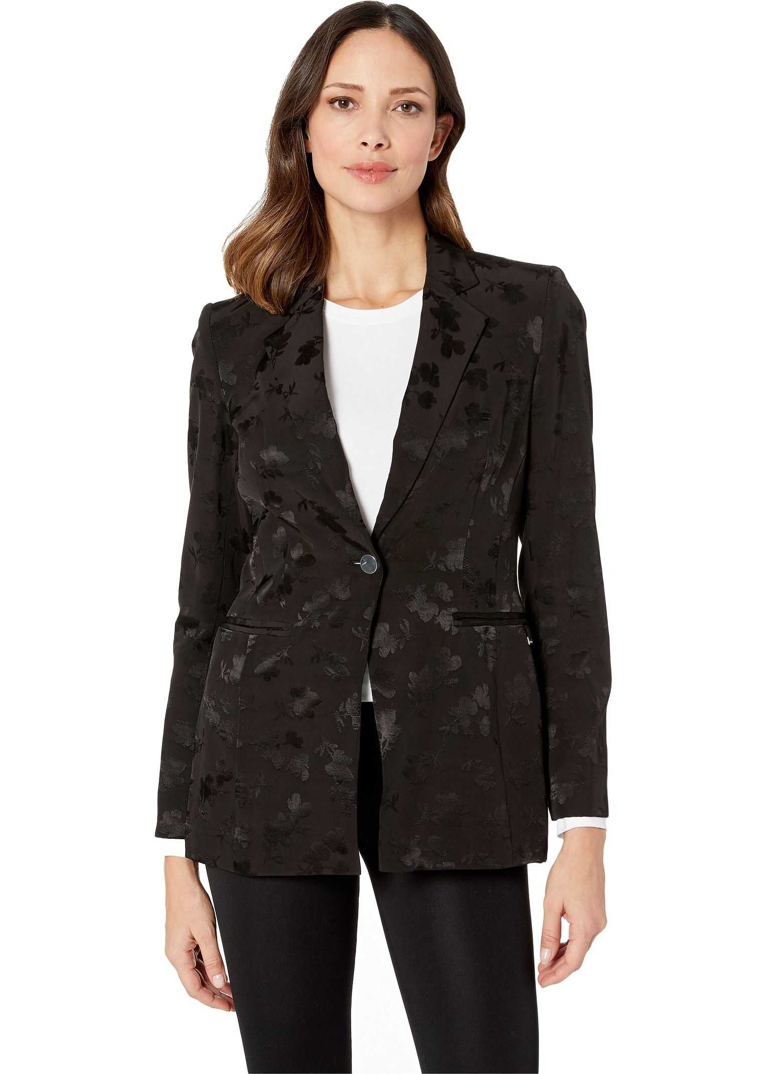 Calvin Klein Soft Suiting Jacket Black/Black