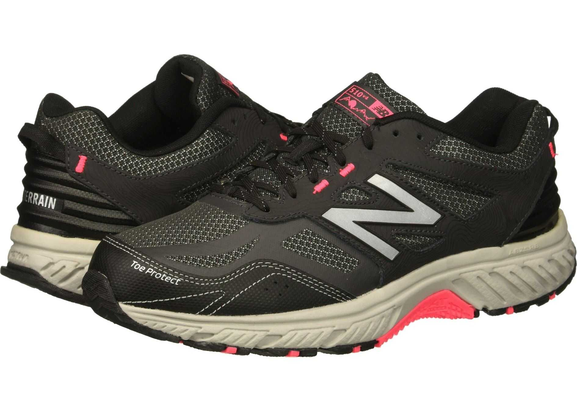 New Balance 510v4 Black/Phantom/Pink Zing