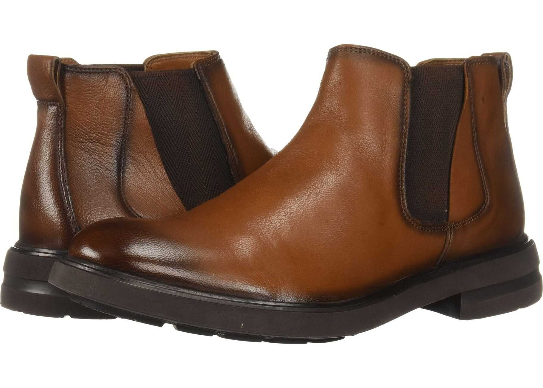 Kenneth Cole New York Tunnel Boot Cognac