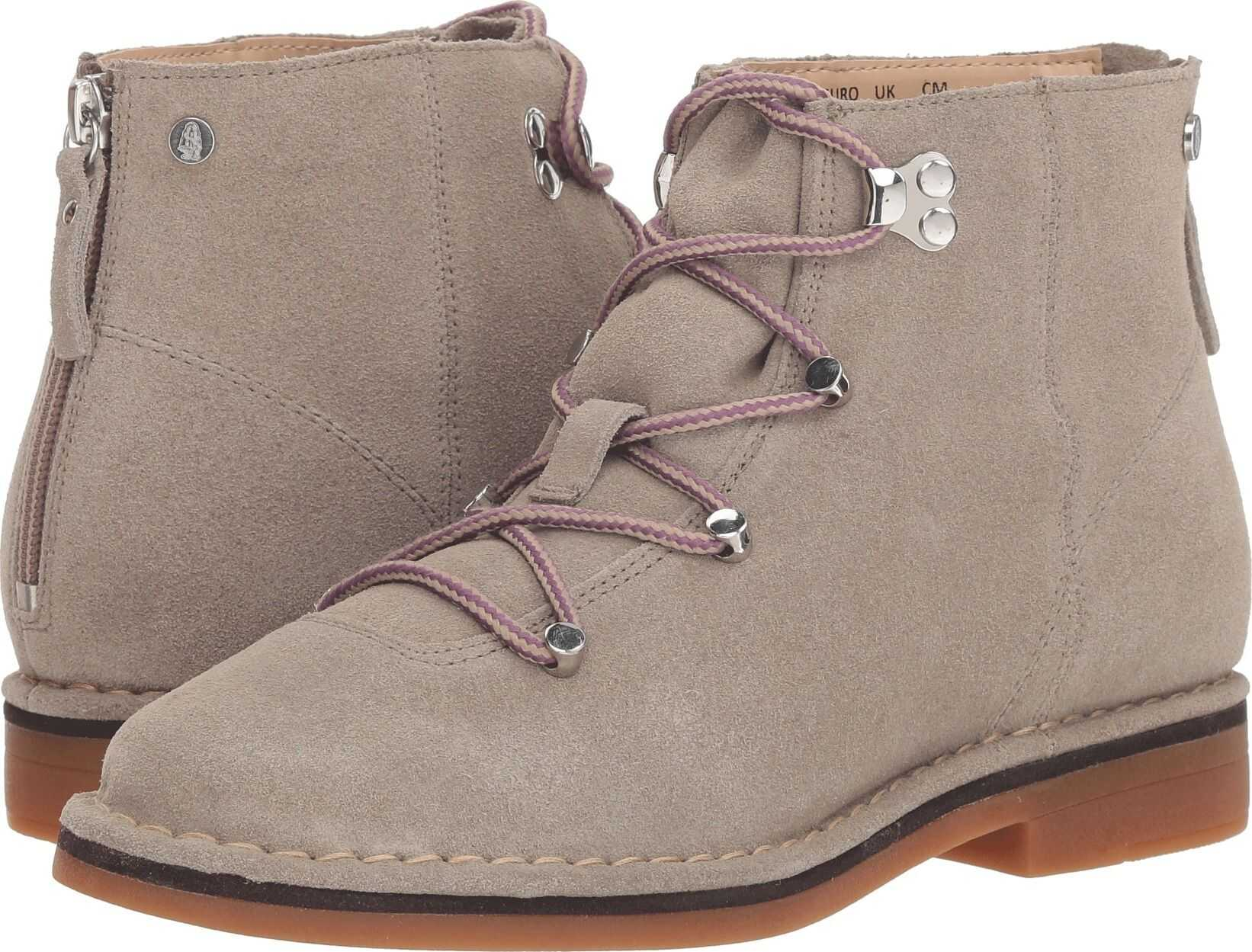Hush Puppies Catelyn Hiker Boot Taupe Suede