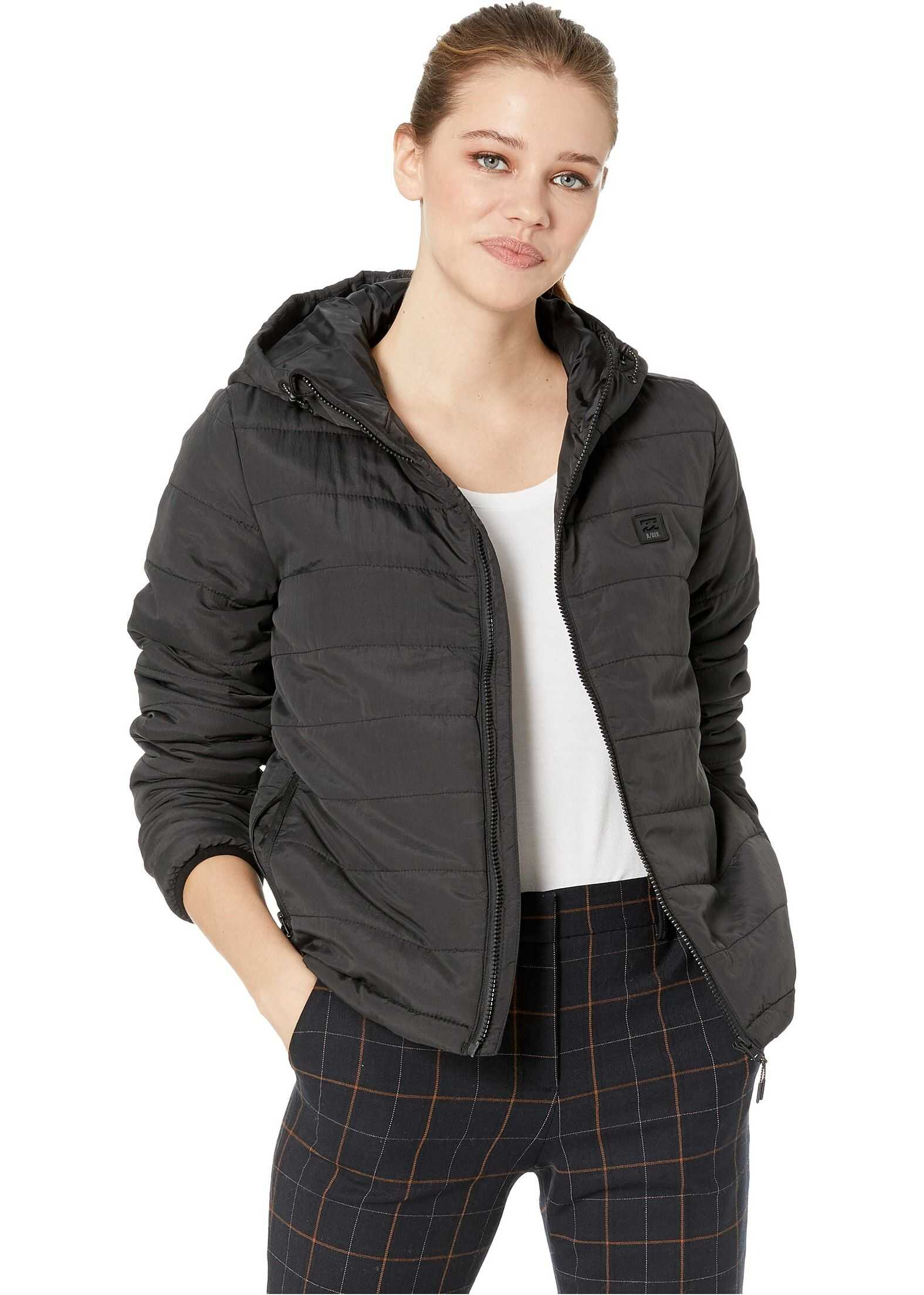 Billabong Transport Adiv Puff Jacket Black