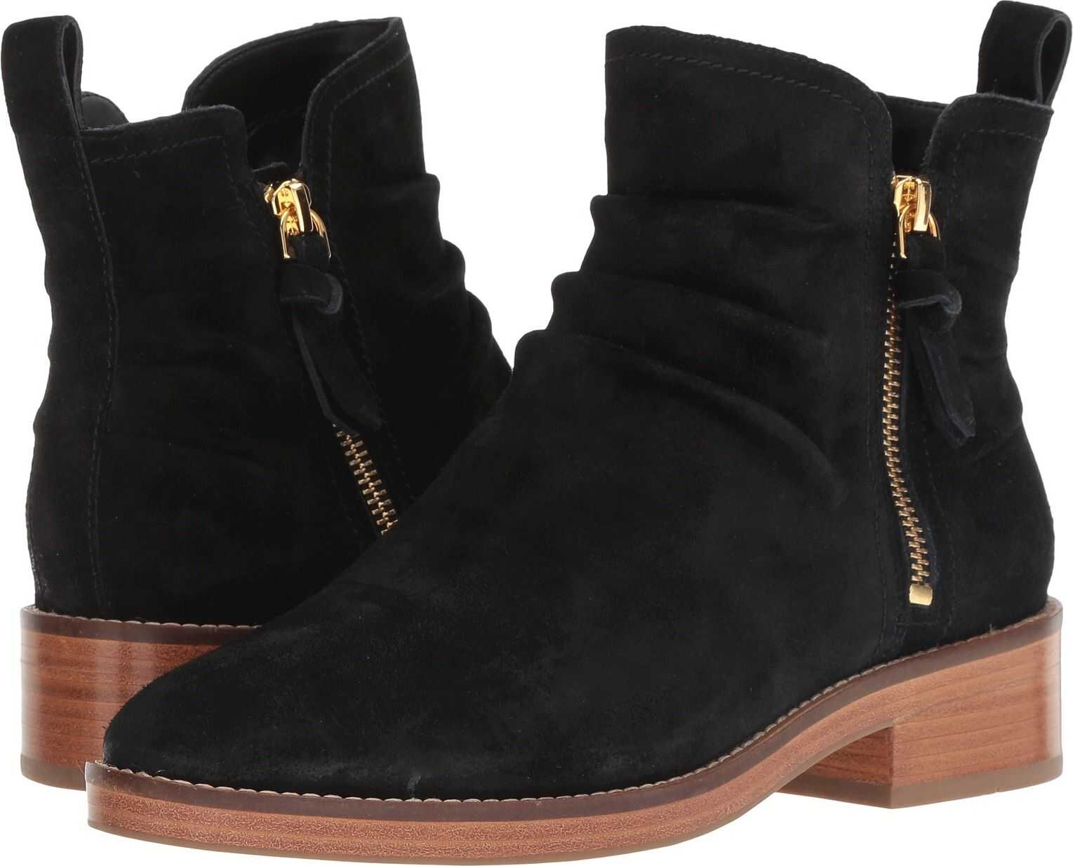 Cole Haan Harrington Grand Slouch Bootie Black Suede