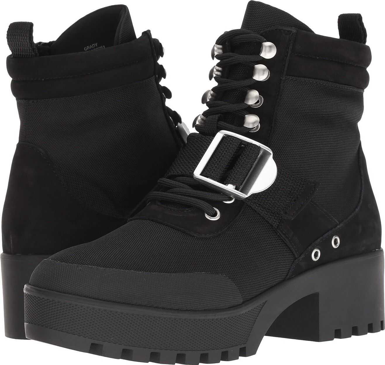 Steve Madden Grady Hiker Boot Black Multi