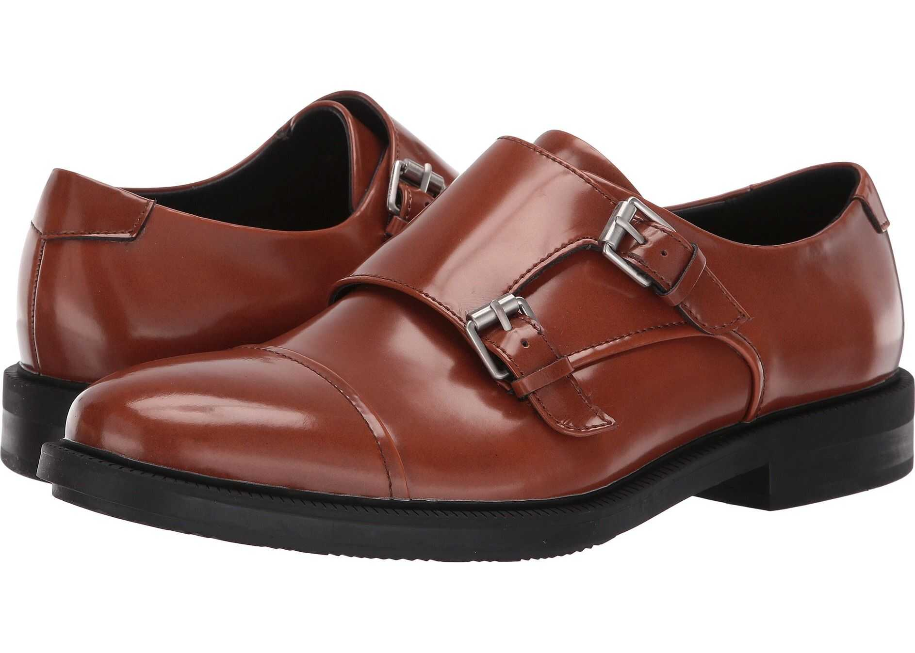 Calvin Klein Candon Vachetta Brush-Off Box Leather