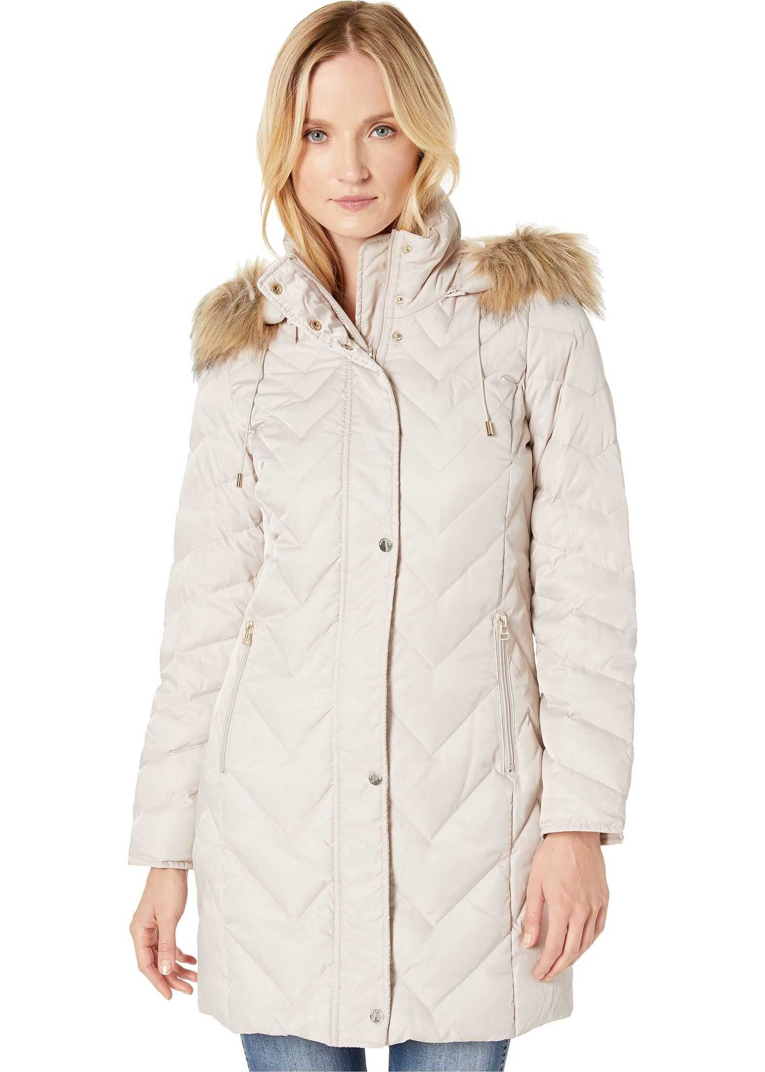 Marc New York by Andrew Marc Roxbury Matte Satin Down Fill Puffer 38\