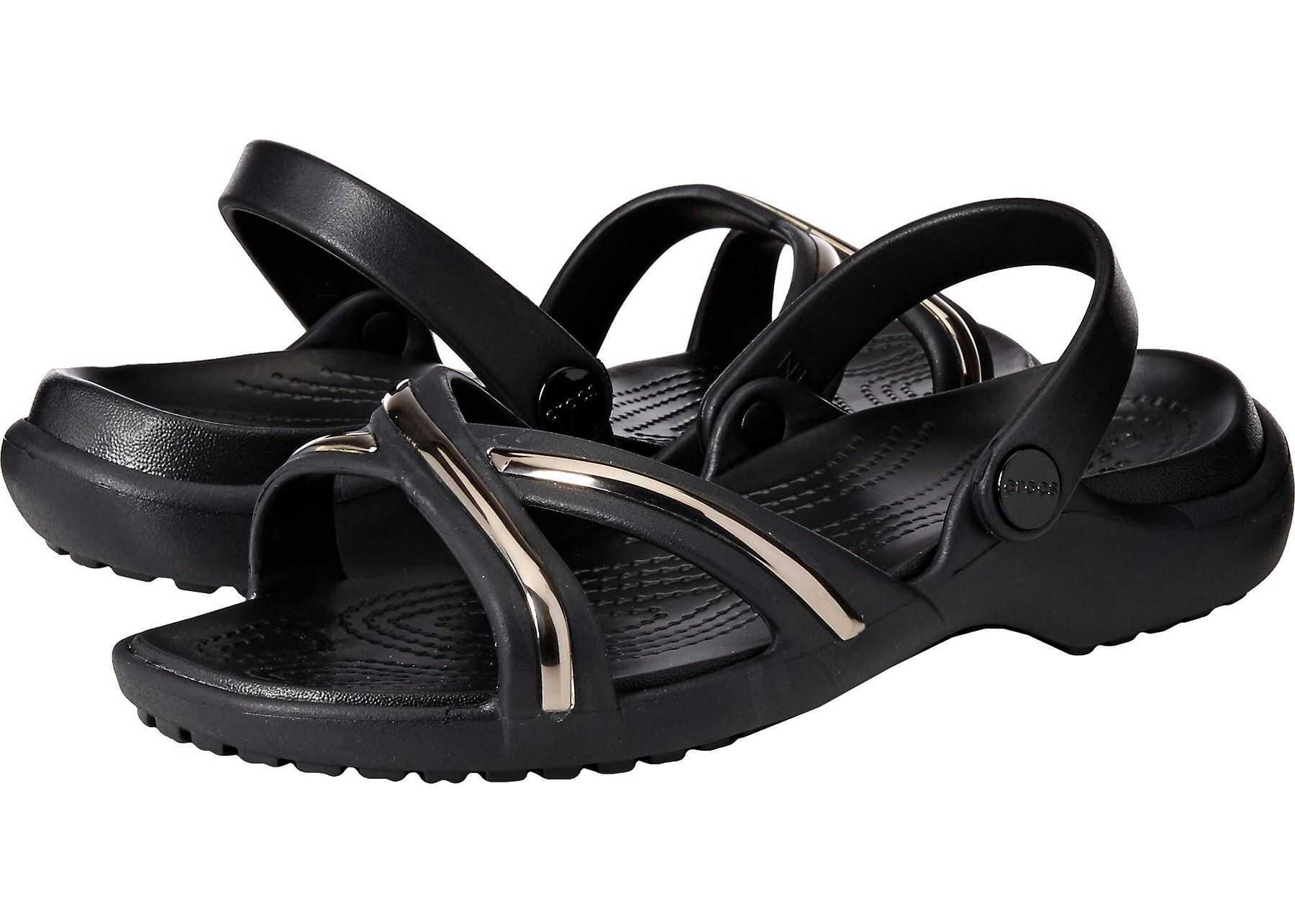 Crocs Meleen Sandal Gunmetal/Black